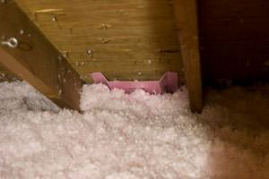 New Insulation installed in Hereford attic